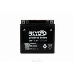 Batterie moto Kyoto YTX14L-BS 12V 12AH