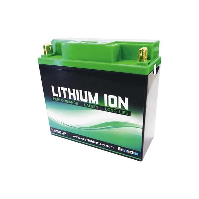 Batterie moto Lithium Skyrich 51913 / 12C16A-3B 12V 7,2AH