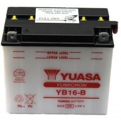Batterie moto Yuasa YB16-B 12V 19AH