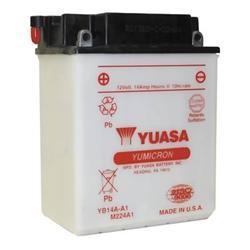 Batterie moto Yuasa YB14A-A2 12V 14AH