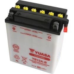 Batterie moto Yuasa YB12A-B 12V 12AH