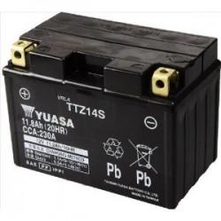 Batterie moto Yuasa TTZ14S 12V 12AH