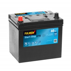 Batterie Fulmen EFB FL605 12V 60AH 520A