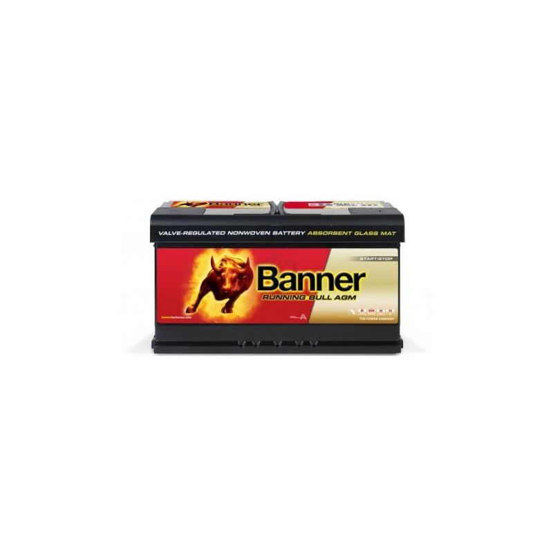 Batterie BANNER 59201 décharge lente AGM 12V 92AH