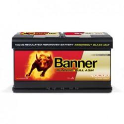Batterie démarrage Banner 59201 12V 92AH 850A