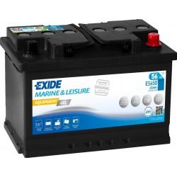 Batterie Exide Gel ES650 12V 56AH