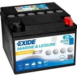 Batterie Exide Gel ES290 12V 25AH