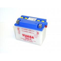 Batterie moto Yuasa YB4L-B 12V 4AH