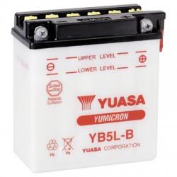 Batterie moto Yuasa YB5L-B 12V 5AH