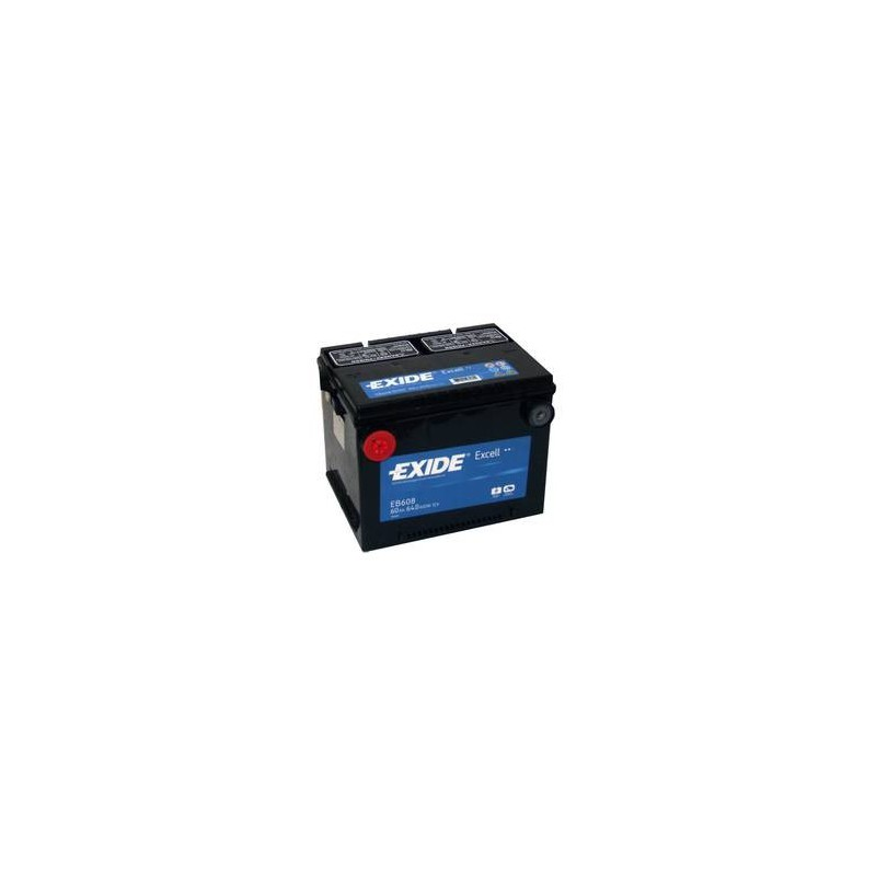 Batterie démarrage US EXIDE 12V 60AH 640A