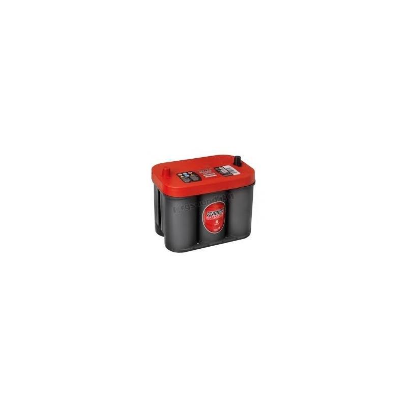 batterie optima rouge rtc4 2 12 volts 50ah 815a. Black Bedroom Furniture Sets. Home Design Ideas
