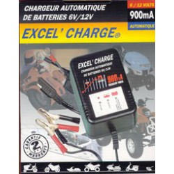 Chargeur EXCELL 6 &12 Volts