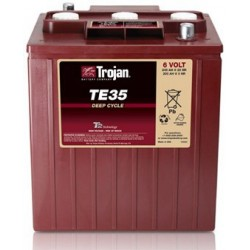 Batterie traction TROJAN Deep-Cycle TE35 6V 245AH