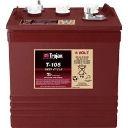 Batterie traction TROJAN Deep-Cycle T-105 Plus 6V 225AH