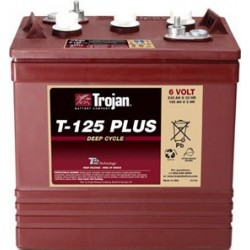 Batterie traction TROJAN Deep-Cycle T-125 Plus 6V 240AH