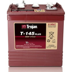 Batterie traction TROJAN Deep-Cycle T-145 Plus 6V 260AH