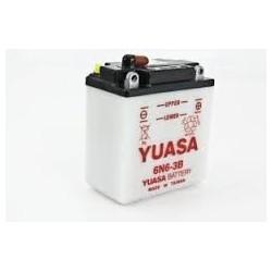 Batterie moto Yuasa 6N6-3B-1 6V 6AH