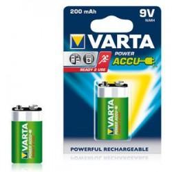 Pile 6LR61 / 9V rechargeable Varta