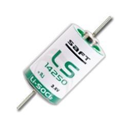 Pile SAFT LS14250 1/2AA connecteur axial