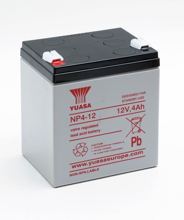 Batterie Yuasa NP4-12FR 12V...