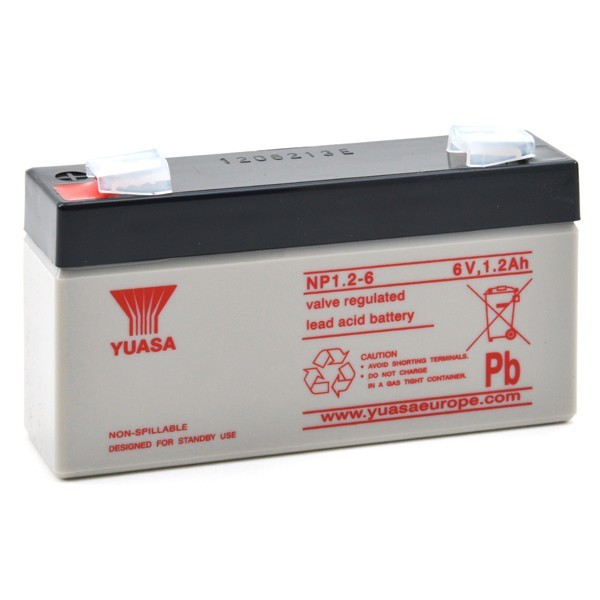 Batterie Yuasa NP1.2-6 6V...