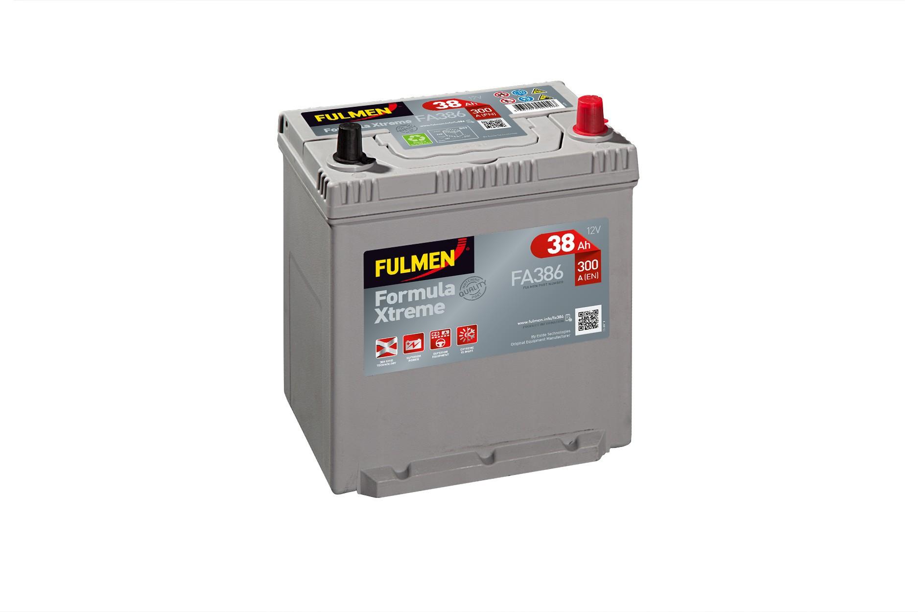 Batterie Fulmen FA386 12V...