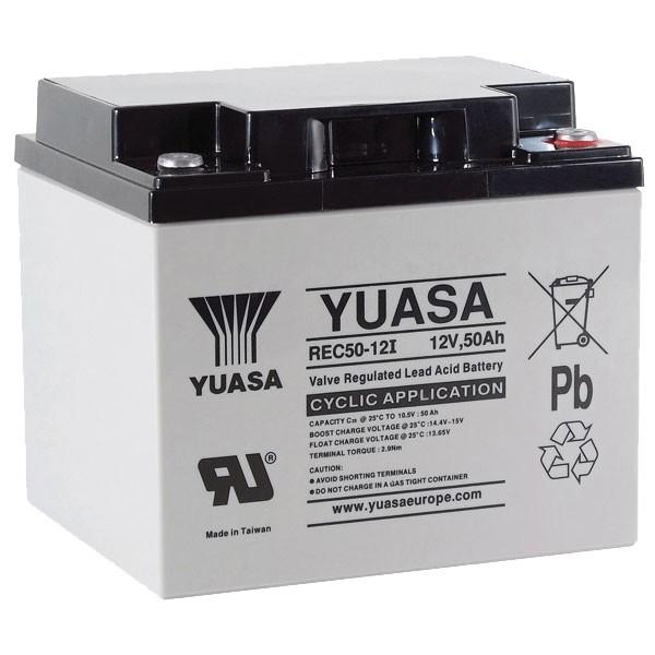 Batterie Yuasa REC50-12 12V...
