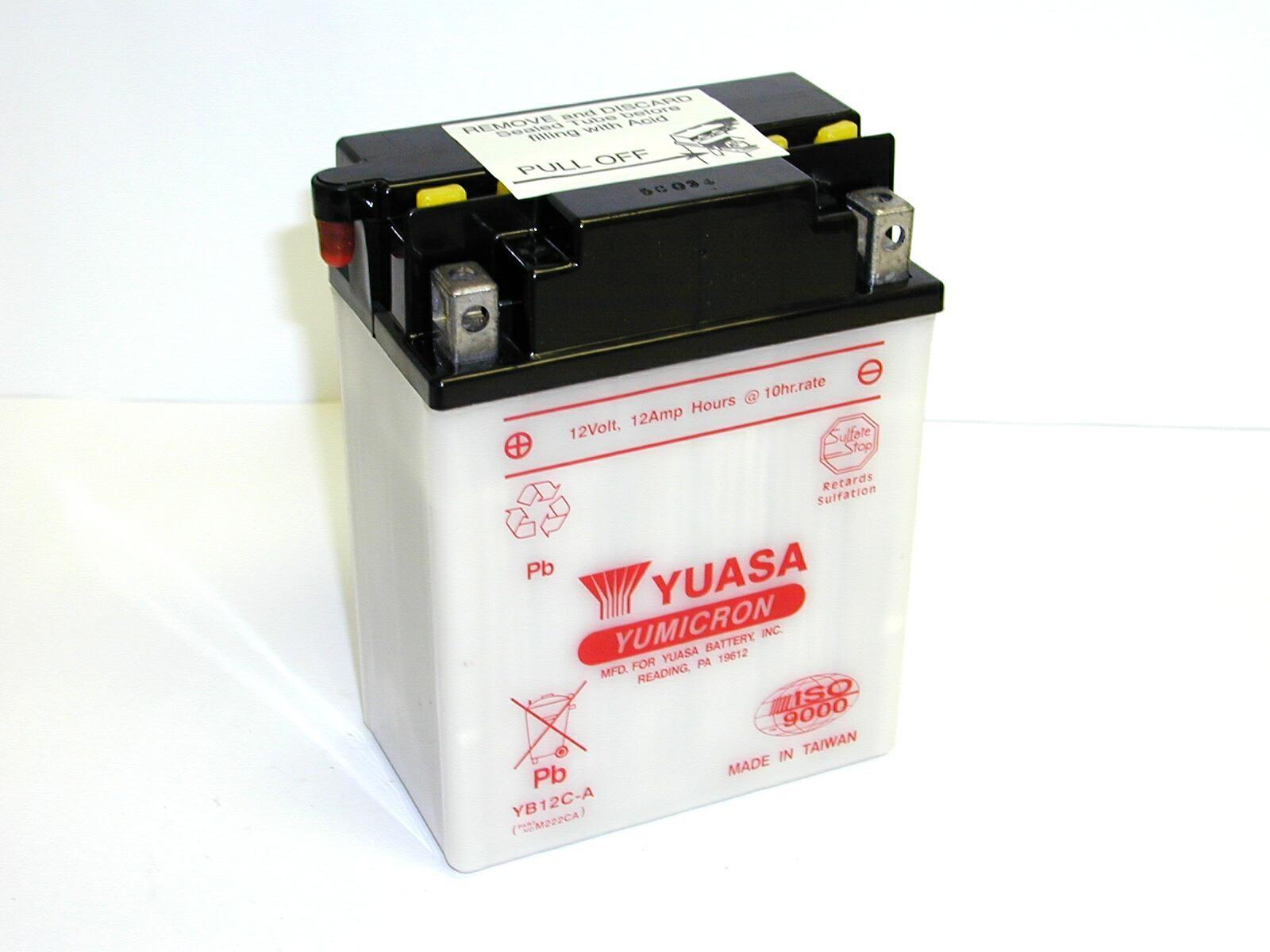 Batterie moto Yuasa YB12C-A...