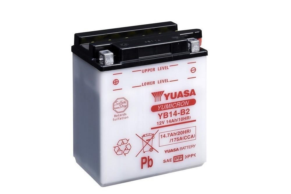 Batterie moto Yuasa YB14-B2...