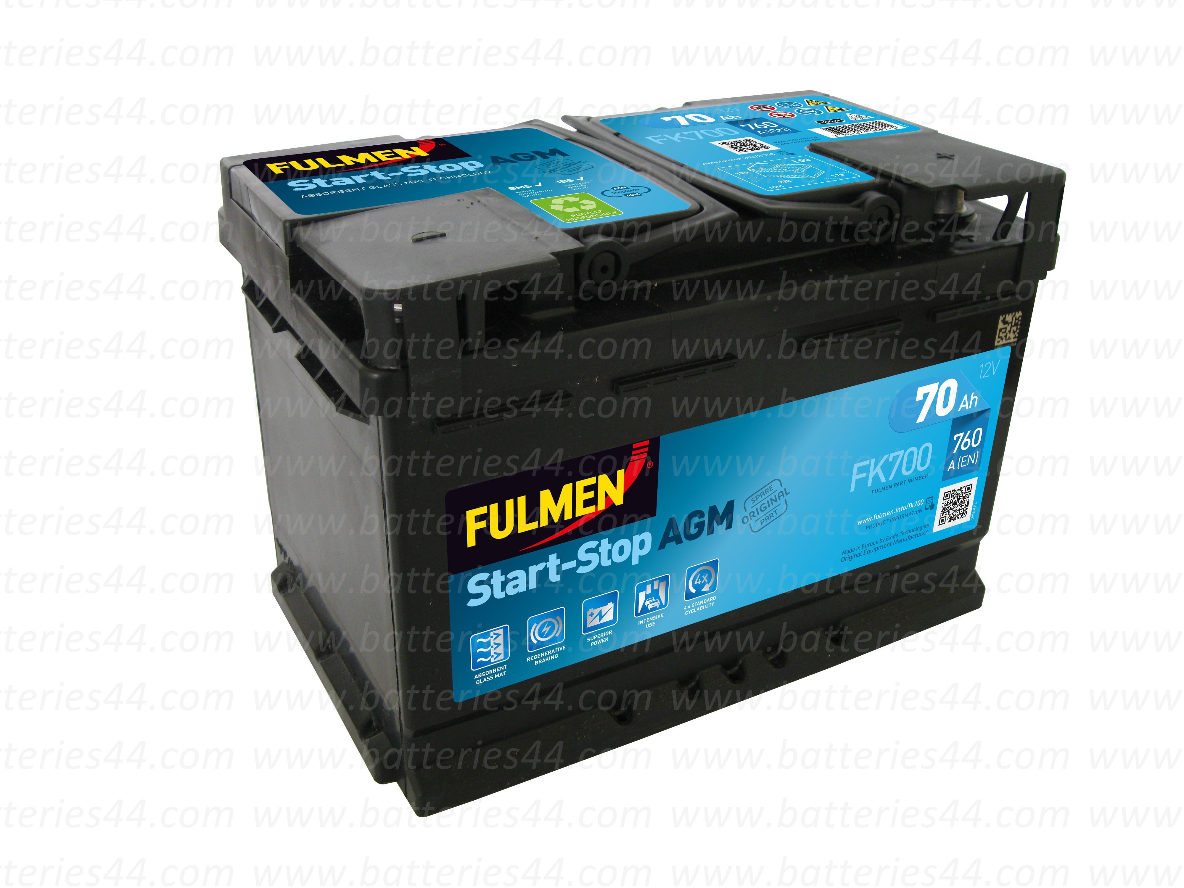 Batterie Fulmen AGM FK700...