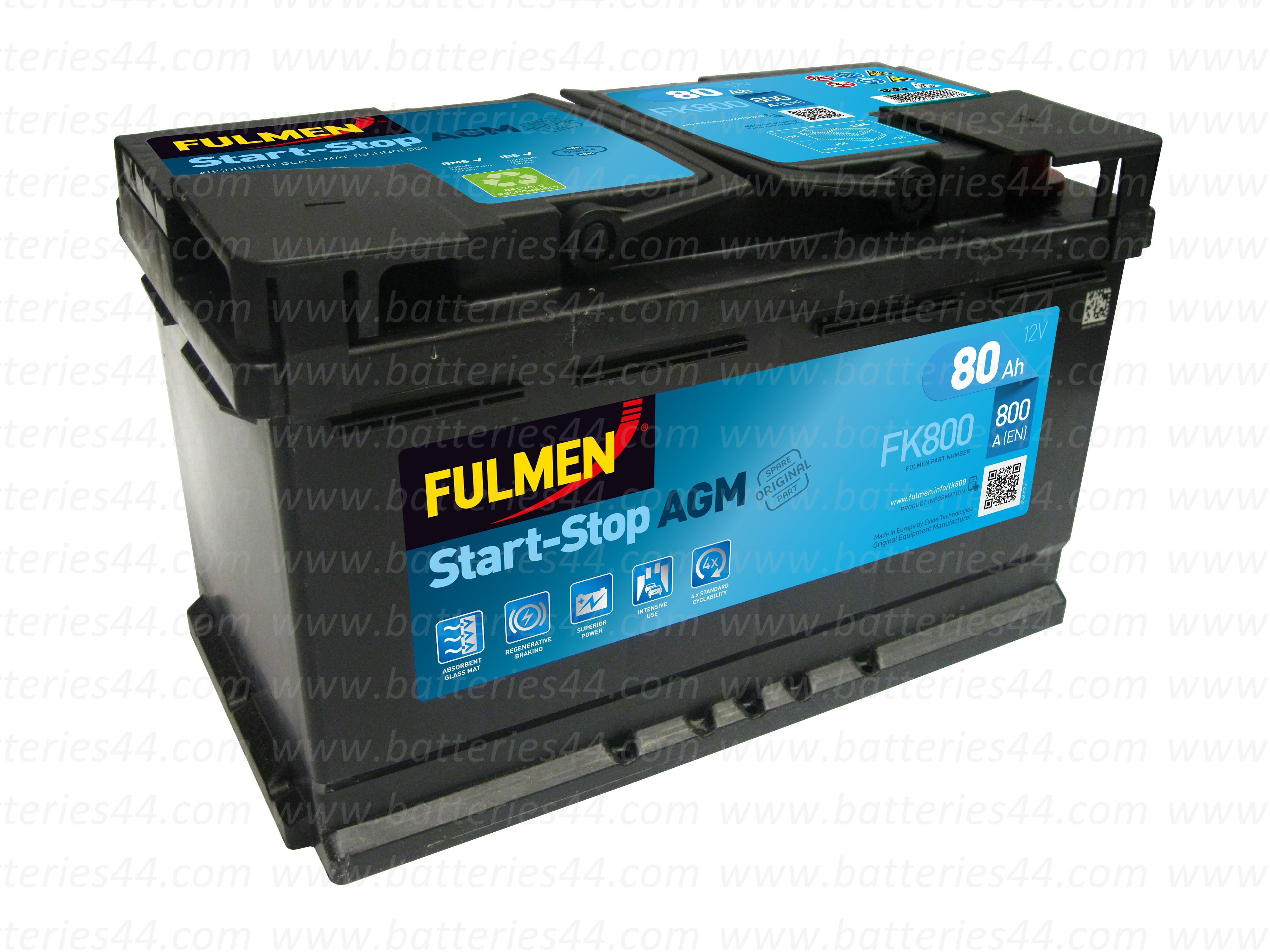 Batterie Fulmen AGM FK800...