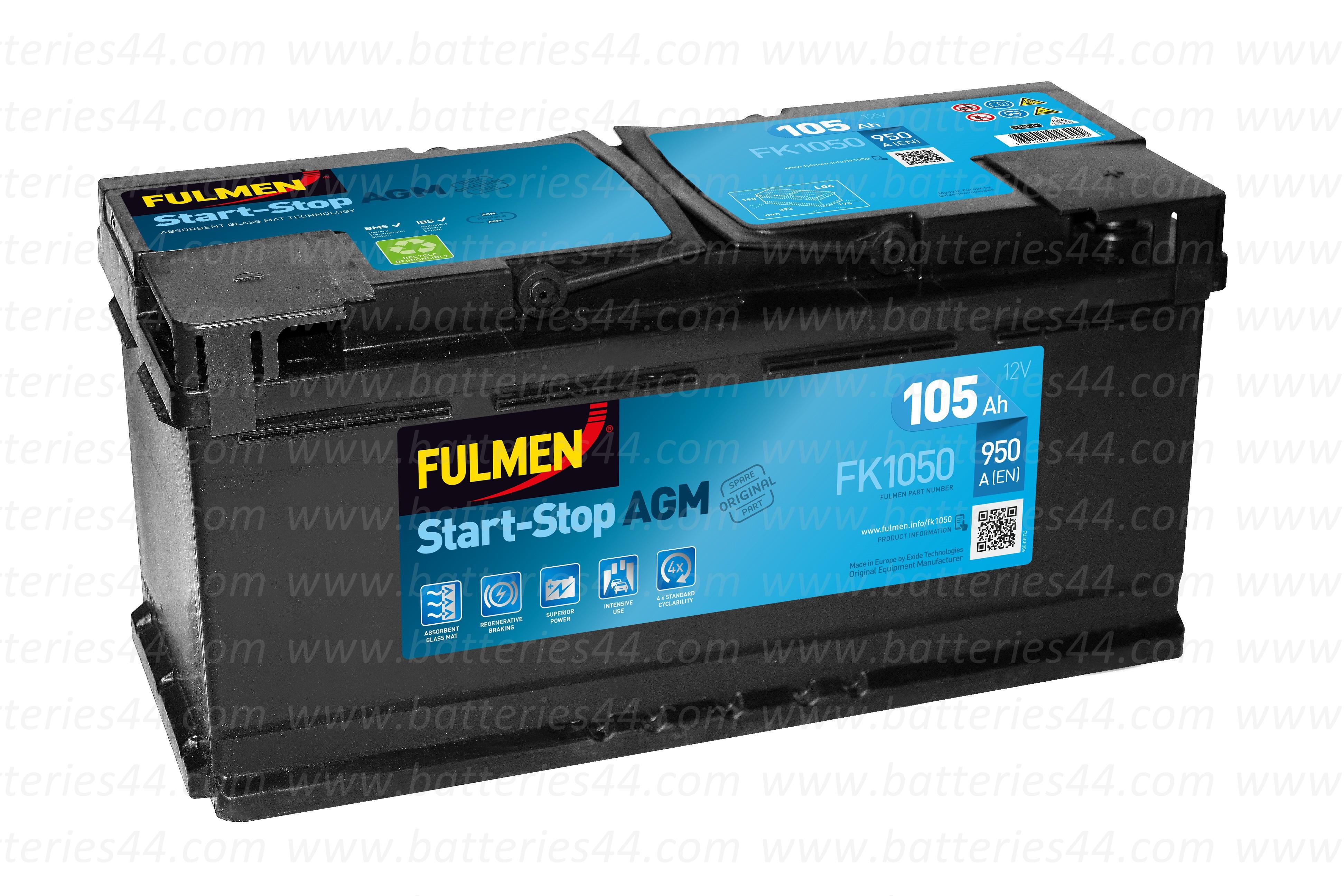 Batterie Fulmen FK1050 12V...