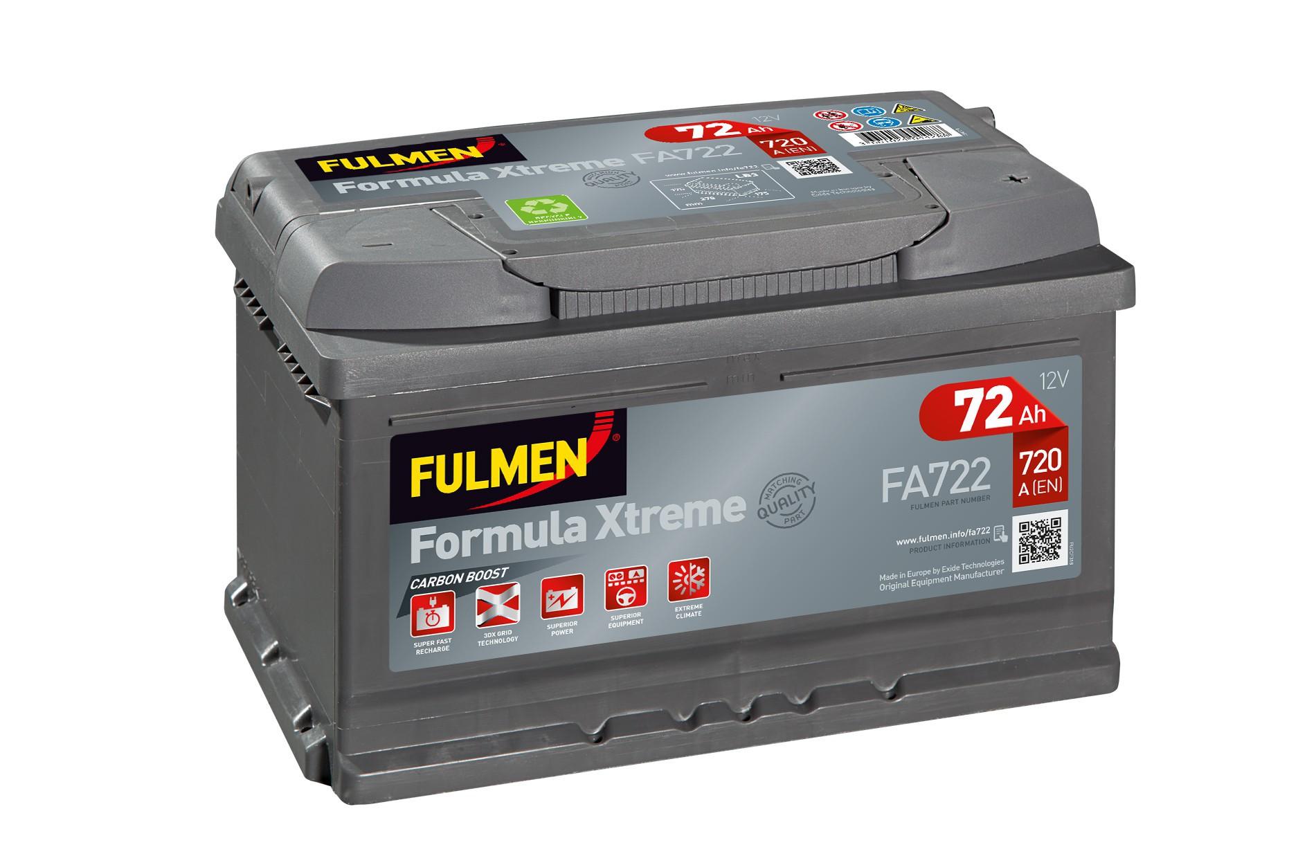 Batterie Fulmen FA722 12V...