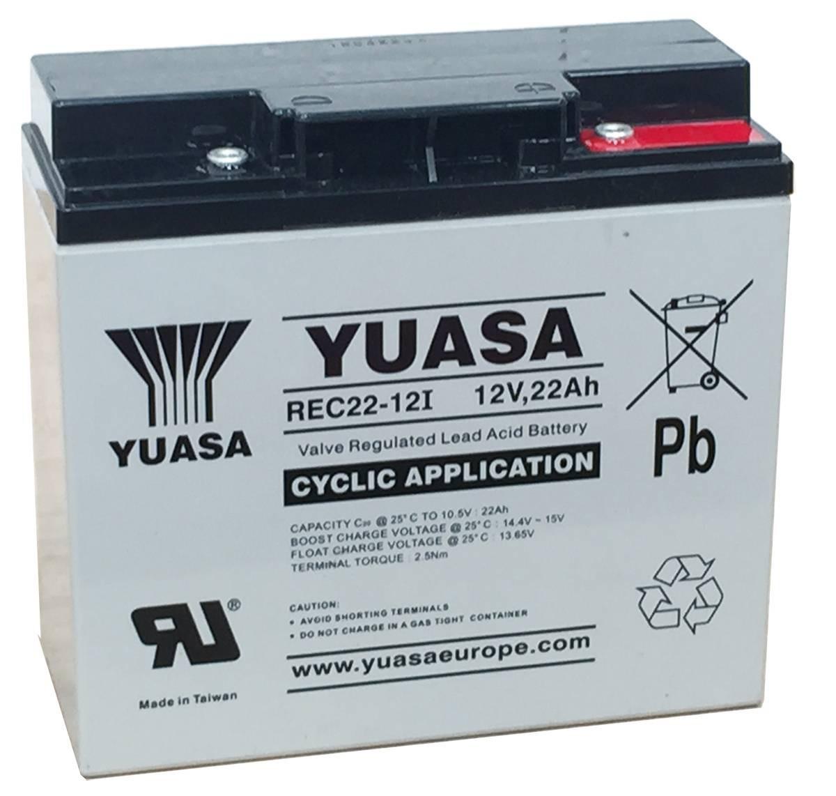 Batterie Yuasa REC22-12 12V...