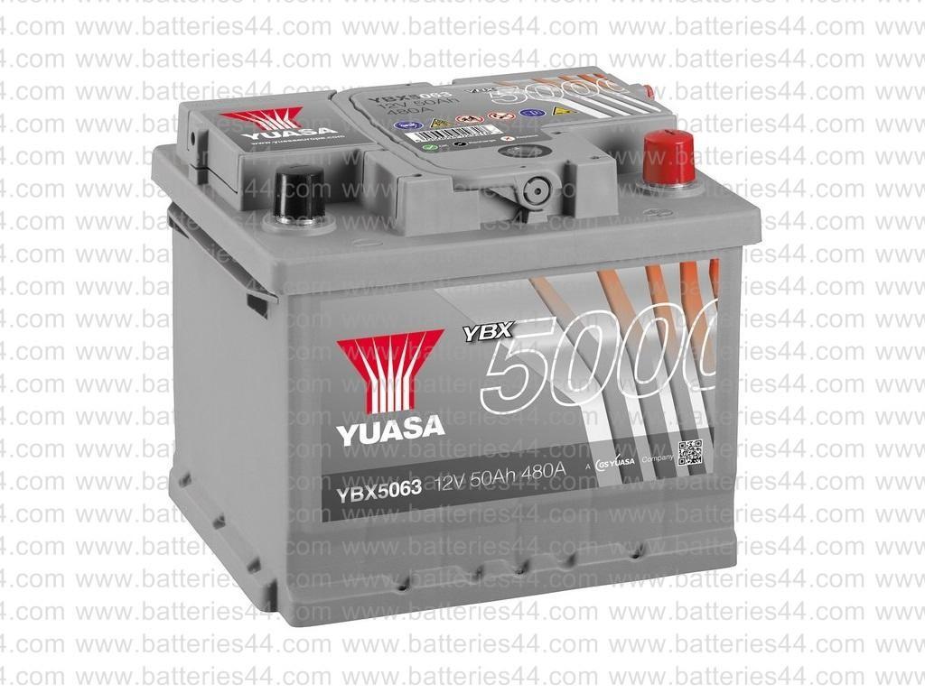 Batterie Yuasa YBX5063 12V...