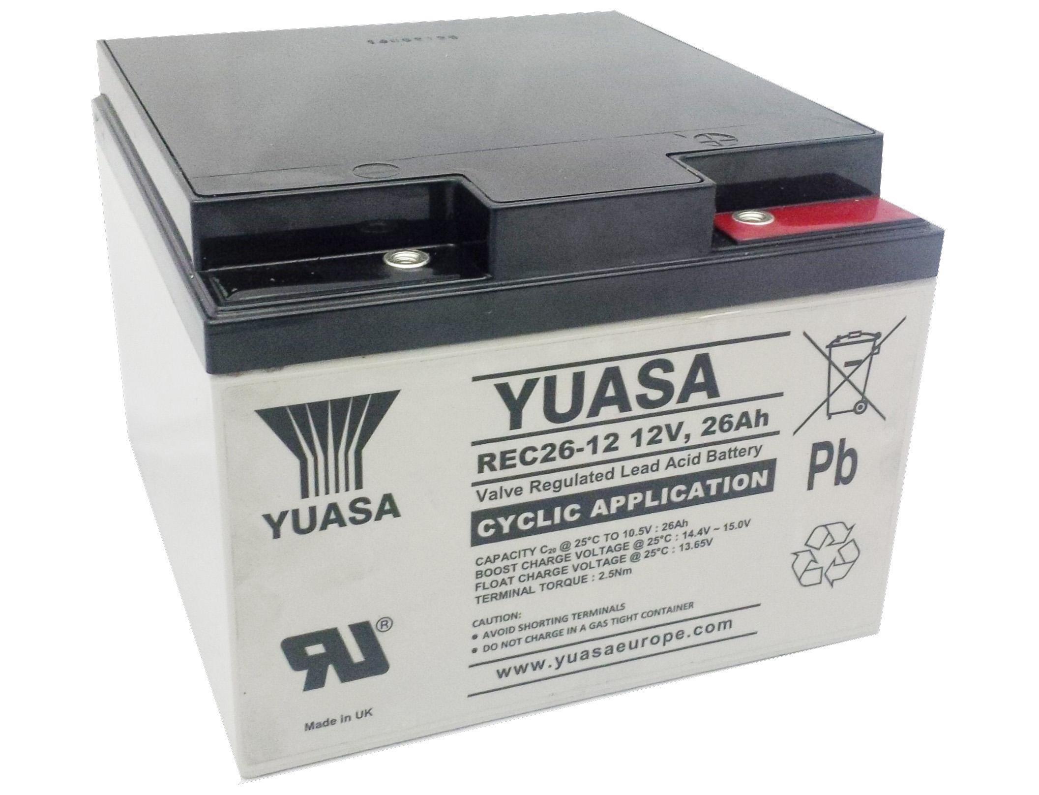 Batterie Yuasa REC26-12 12V...