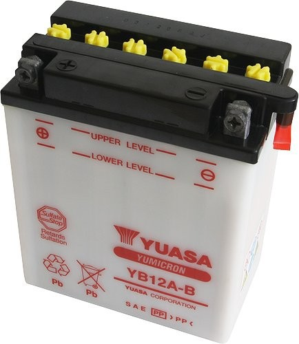 Batterie moto Yuasa YB12A-B...