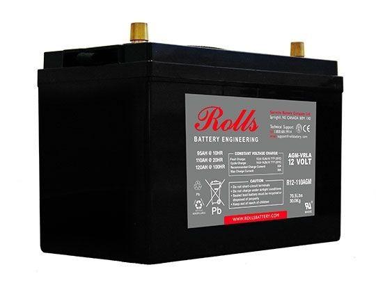 Batterie ROLLS R12-110 AGM...