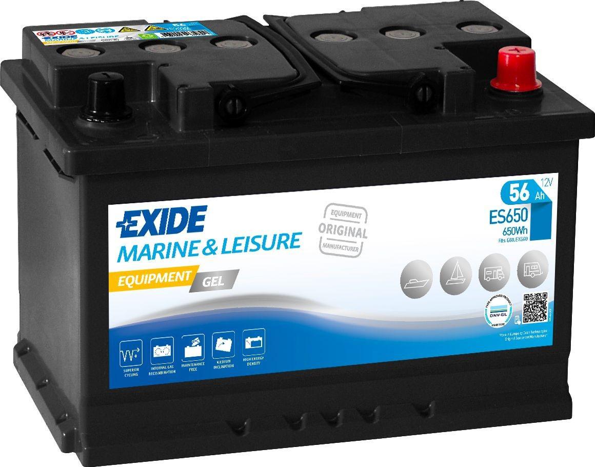 Batterie Exide Gel ES650...