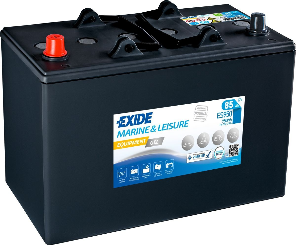 Batterie Exide Gel ES950...
