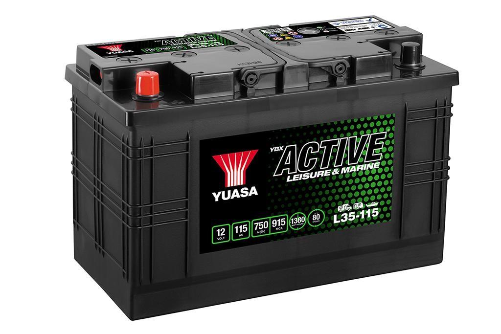 Batterie Yuasa décharge...