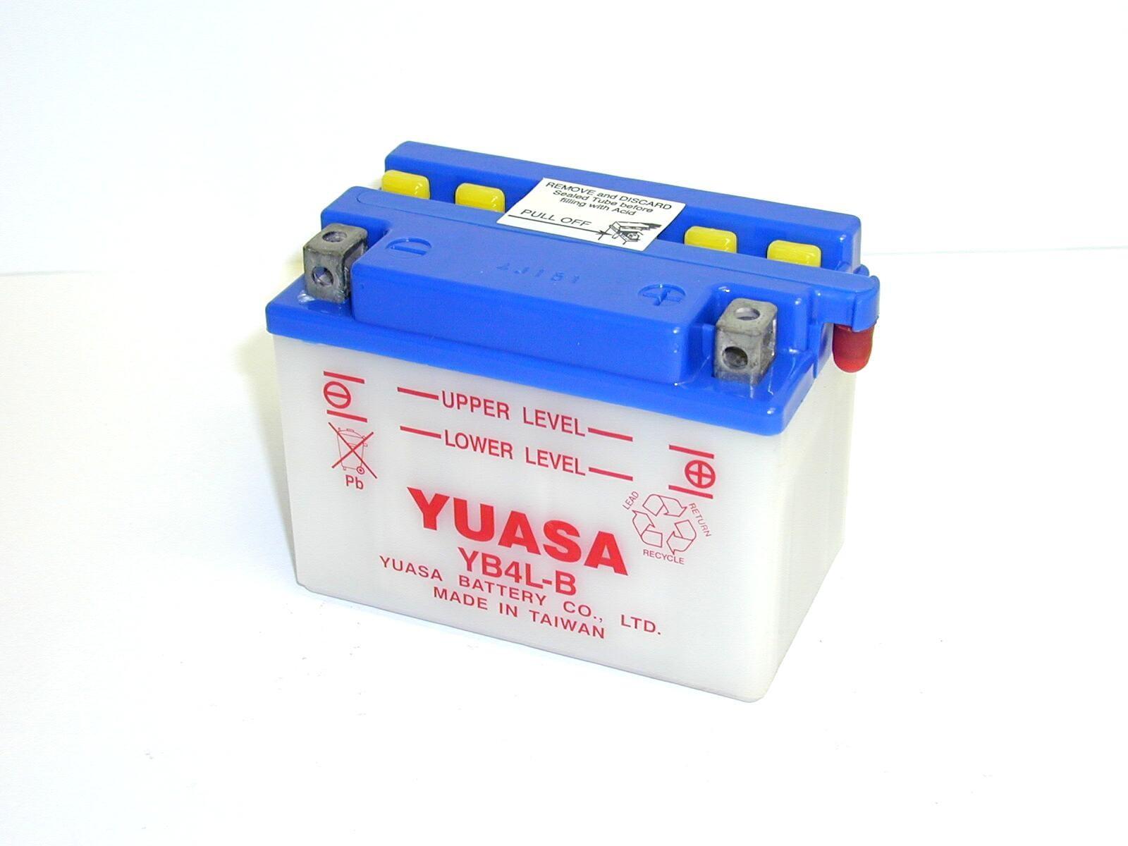 Batterie moto Yuasa YB4L-B...
