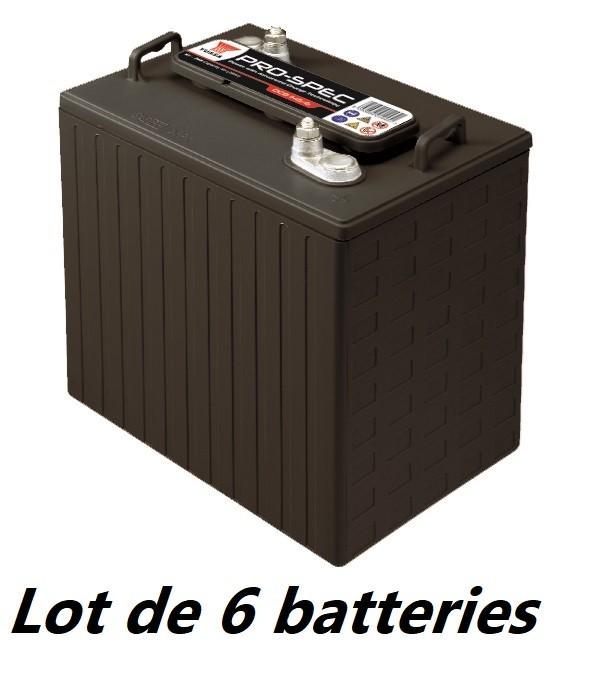 Lot de 6 batteries YUASA...