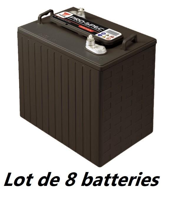 Lot de 8 batteries YUASA...