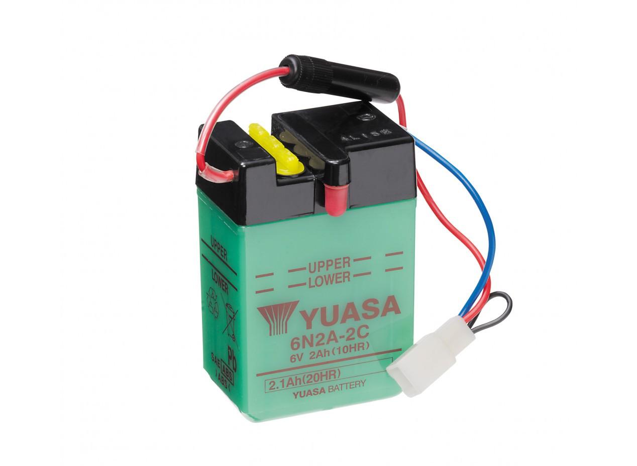 Batterie moto Yuasa 6N2A-2C...