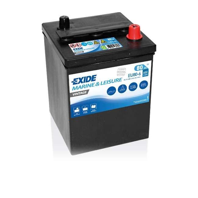 Batterie EXIDE Vintage 6V...