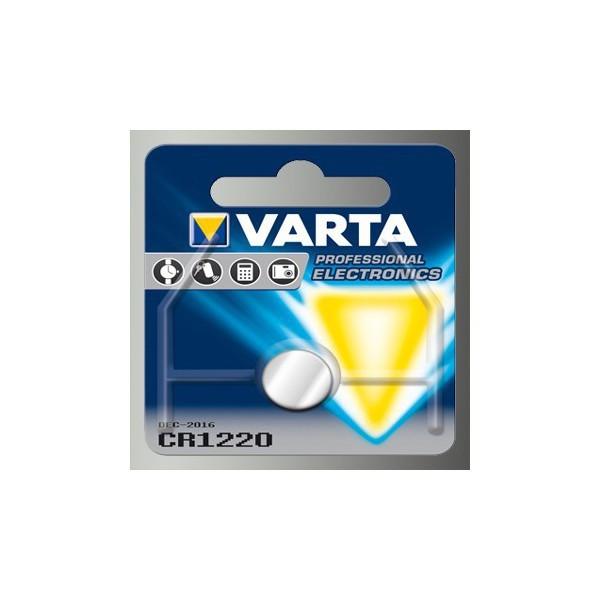 Pile bouton VARTA 3V CR1220