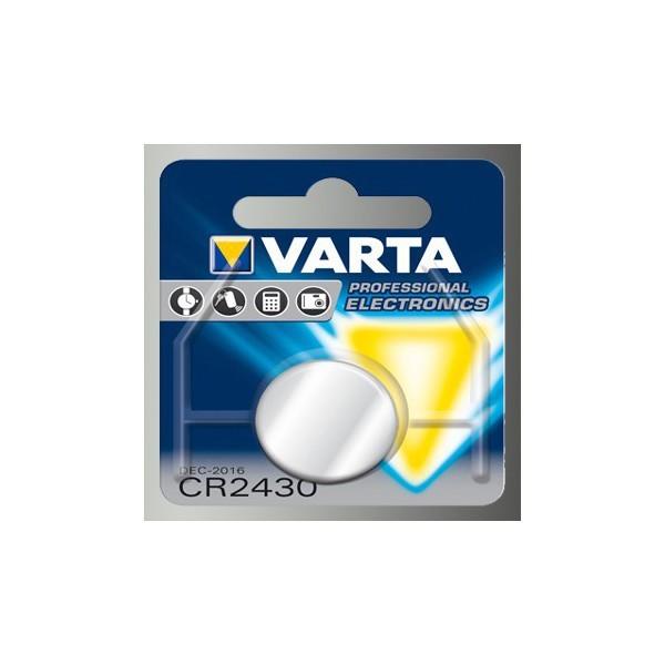 Pile bouton VARTA CR2430 3V...