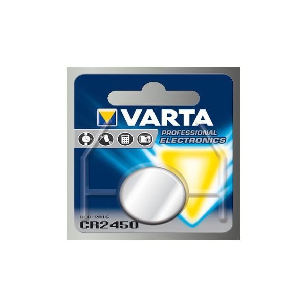 Pile bouton VARTA CR2450 3V...