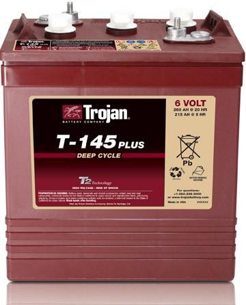 Batterie traction TROJAN...